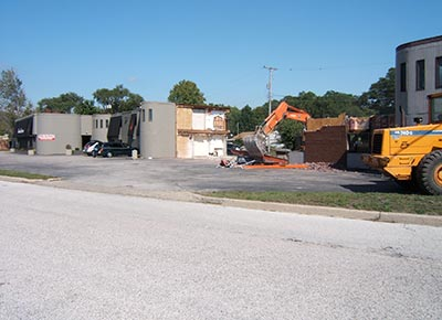 Extensive Renovations and Motel Teardown, 2008