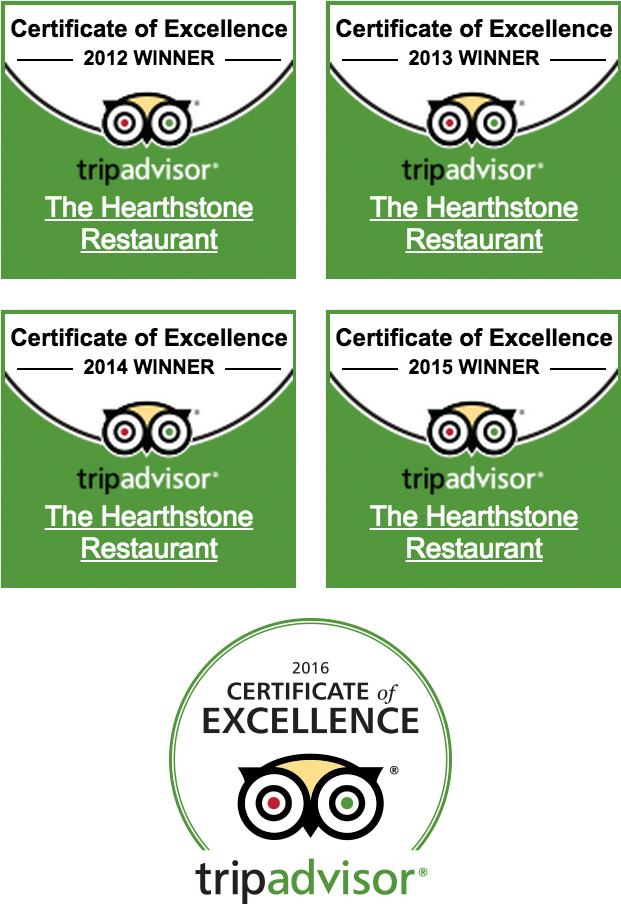 Trip Advisor Certificate of Excellencex